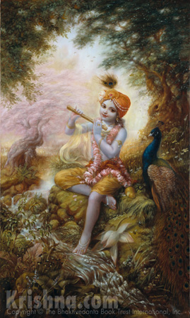 Lord Krishna says in the Personality of Godhead Krishna.""